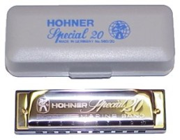 Hohner 560 Special 20 Harmonica, Key of Bb
