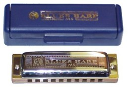 Hohner 532 Blues Harmonica, Key of F#