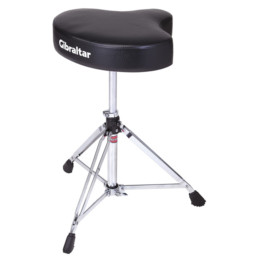 Gibraltar 6608 Motorcycle Style Double Braced Drum Throne