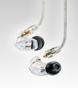 Shure SE215-CL Sound Isolating Earphones