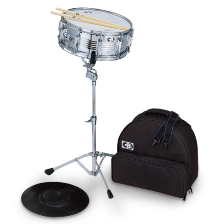 CB Percussion Deluxe Backpack Snare Drum Kit