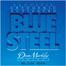 Dean Markley Blue Steel Medium Light Acoustic Guitar Strings 2036