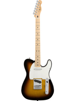 Fender Standard Telecaster Brown Sunburst Maple Fingerboard