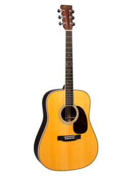 Martin HD-35 Acoustic Guitar With Gold Plus Thinline Pickup Installed
