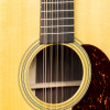 Martin HD12-28 Acoustic Guitar With Gold Plus Thinline Pickup Soundhole