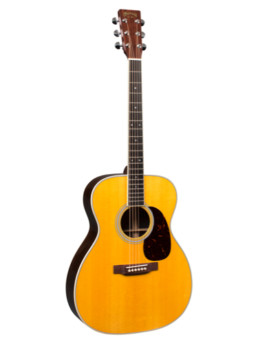 Martin M-36 Acoustic Guitar With Gold Plus Thinline Pickup