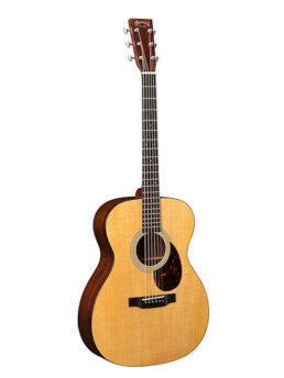 Martin OM-21 Acoustic Guitar With Gold Plus Thinline Pickup