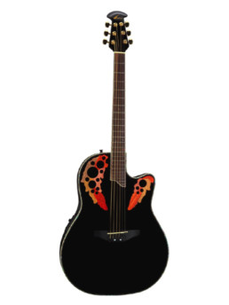 Ovation CC44-5 Black Celebrity Deluxe