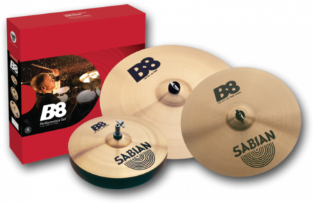 Sabian (B8) 45003 Performance Cymbal Set