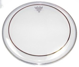 Remo PS0312-00 Pinstripe 12 inch Drumhead, Clear