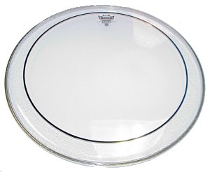Remo PS0316-00 Pinstripe 16 inch Drumhead, Clear
