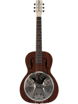 Gretsch G9200 Boxcar Round Neck Resophonic Guitar Natural