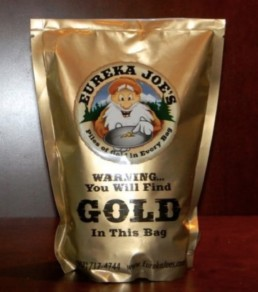 Eureka Joes Lower River Claim Two Pound Bag Of Paydirt