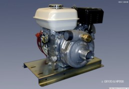 Proline Honda GX120 And HP200 Engine - Pump Combo