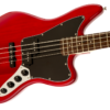 Fender Squier Jaguar Bass Special Crimson Red Transparent Rosewood Fingerboard Body