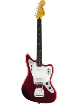 Fender Squier Vintage Modified Jaguar Candy Apple Red Rosewood Fingerboard