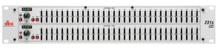 dbx 231S Dual Channel 31 Band Equalizer