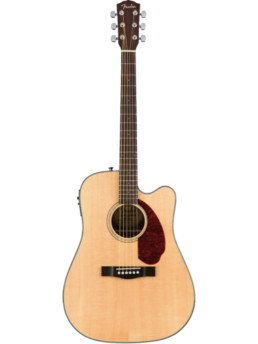 Fender CD-140SCE Natural Solid Top Acoustic-Electric Guitar With Hardshell Case
