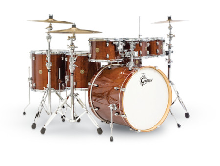 Gretsch CM1-E826P-WG Catalina Maple 6 Piece Walnut Glaze Drum Set Shell Pack