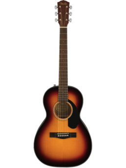 Fender CP-60S Sunburst Solid Top Parlor Acoustic Guitar