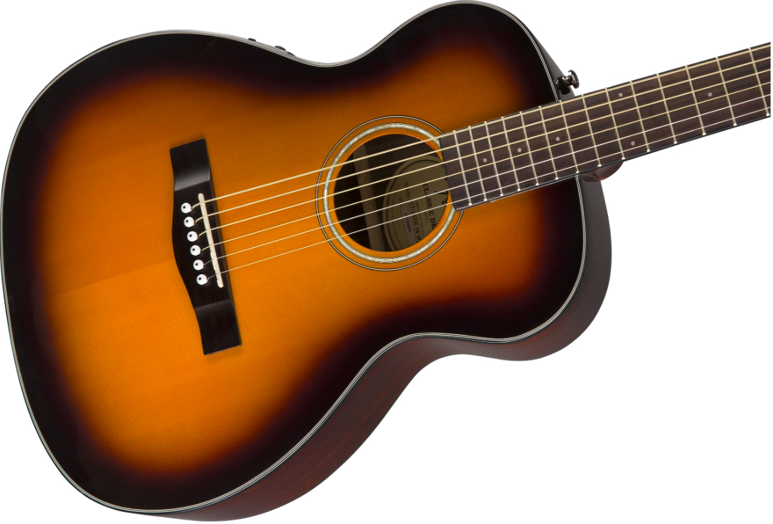 fender ct 140se sunburst solid top acoustic electric travel guitar with hardshell case pro music. Black Bedroom Furniture Sets. Home Design Ideas