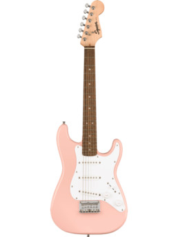 Fender Squier Mini Strat Shell Pink Electric Guitar