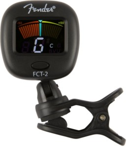 Fender FCT-2 Chromatic Clip-On Tuner