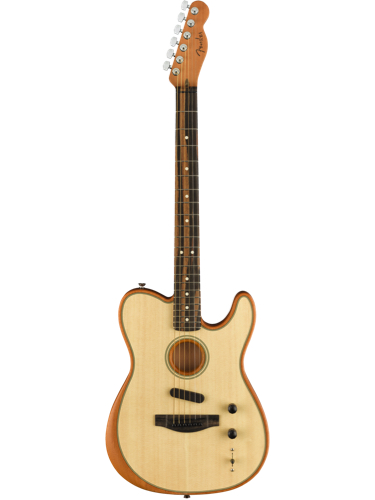 Fender American Acoustasonic Telecaster Natural With Gig Bag