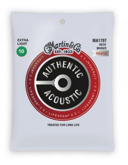 Martin MA170T Bronze Extra Light Acoustic Guitar Strings