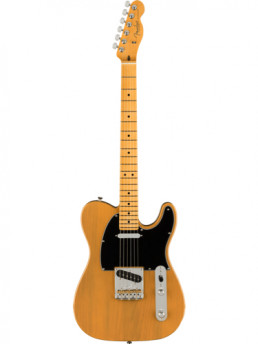 Fender American Pro II Telecaster Butterscotch Blonde Maple Fretboard With Hardshell Case