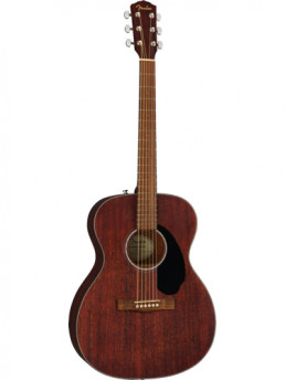 Fender CC-60S Concert Pack v2 All Mahogany Solid Top Acoustic Guitar