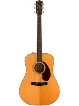 Fender PM-1E Natural Acoustic-Electric Guitar All Solid Wood